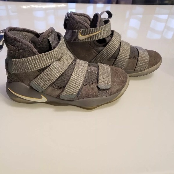 new concept c635c 087f6 Lebron Soldier 11 Cool Grey Sneakers